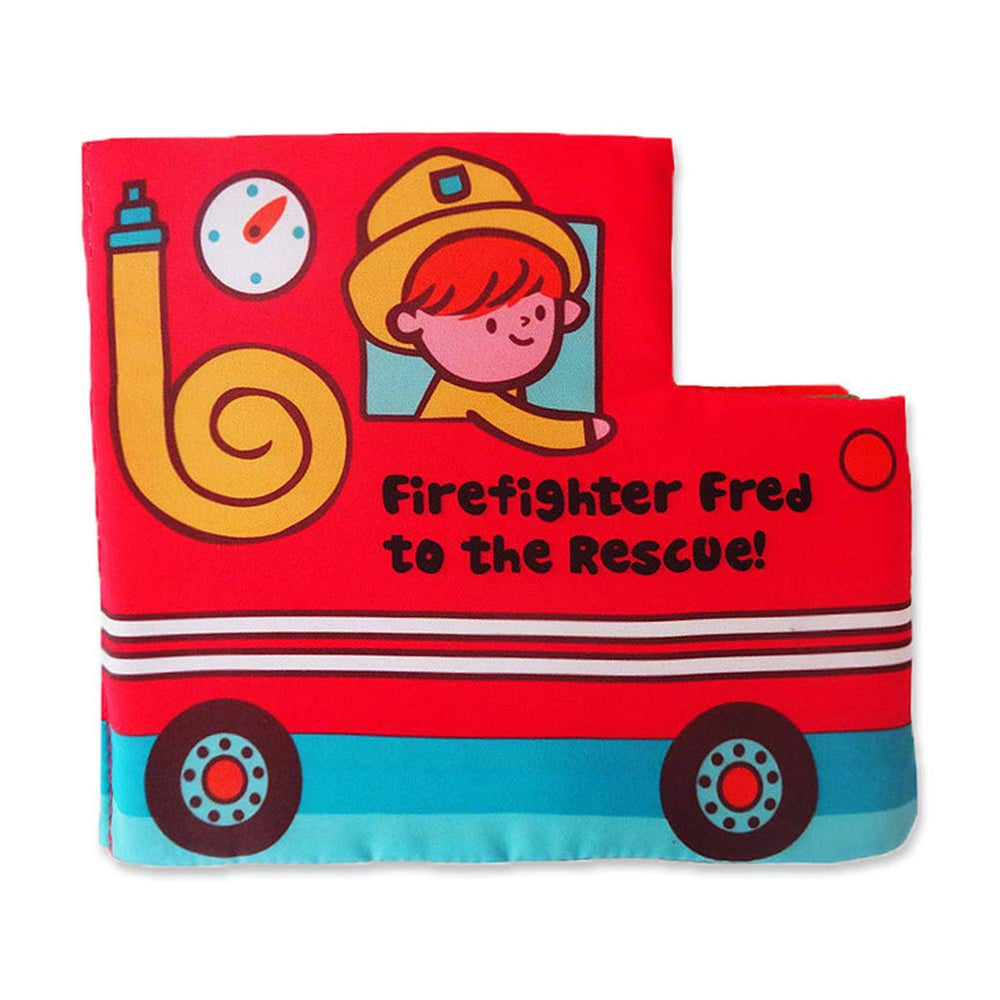 Fire Knowledge Activity Quiet Book