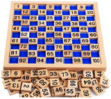 Montessori 1-100 Consecutive Numbers Wooden Board