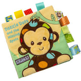 3D Embroidery Cloth Book Animal Cognitive Educational Toys For Infant