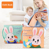 Early Learning toddlers Soft Cloth Quiet Book Baby Busy Book