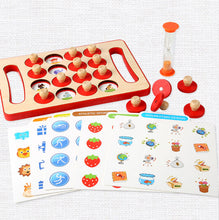 Load image into Gallery viewer, Wooden Montessori Memory Matching Game