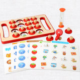 Wooden Montessori Memory Matching Game