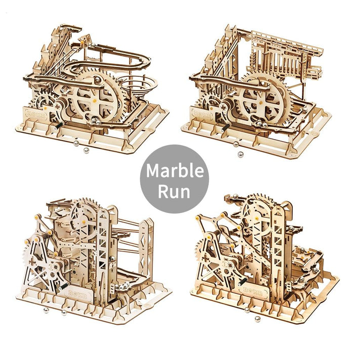 DIY 3D Wooden Marble Run Puzzle - Wooden Puzzle Toys