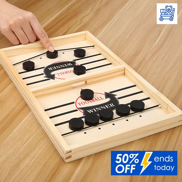 Wooden Hockey Game Wootronic