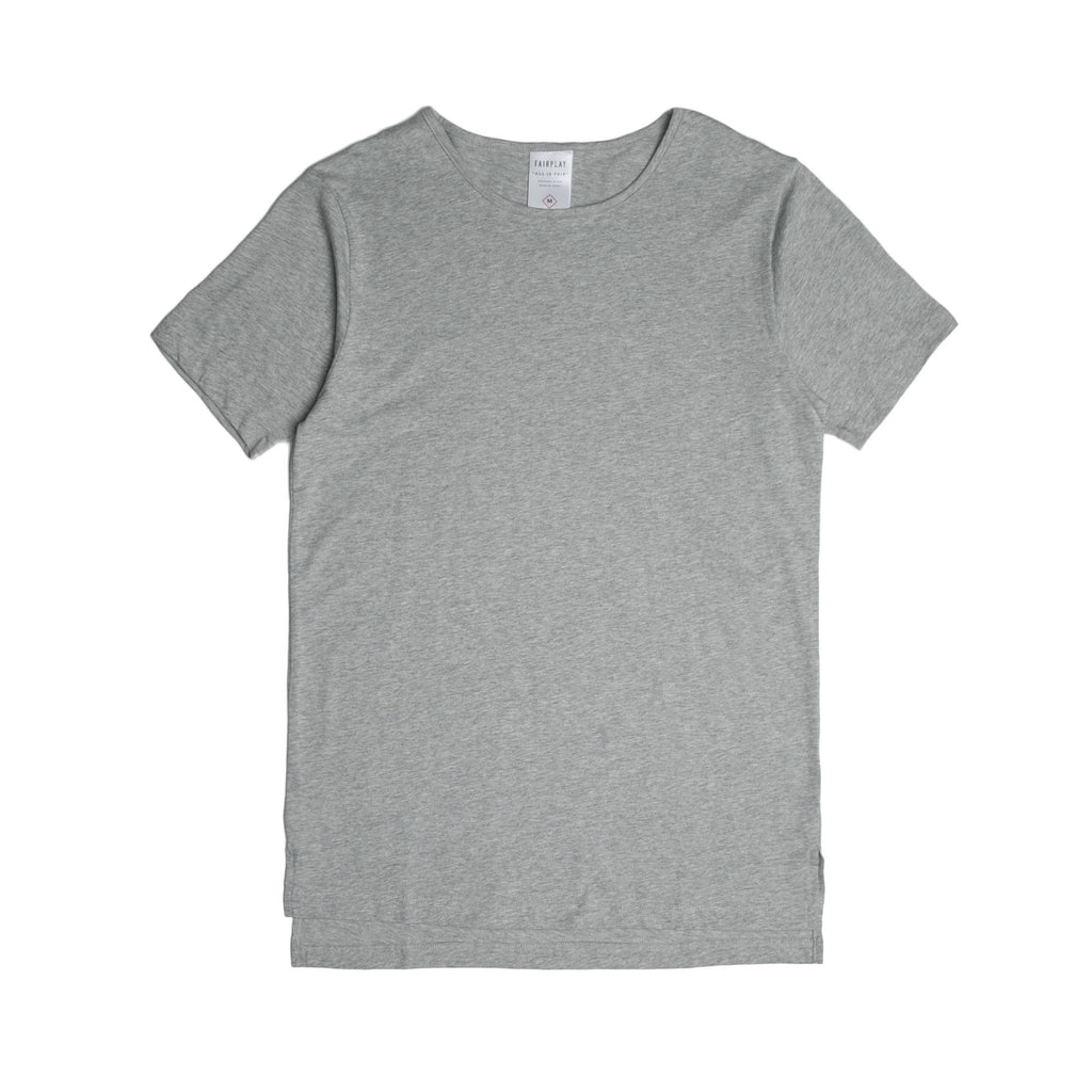 05 - Official S/S Elongated Tee - Heather