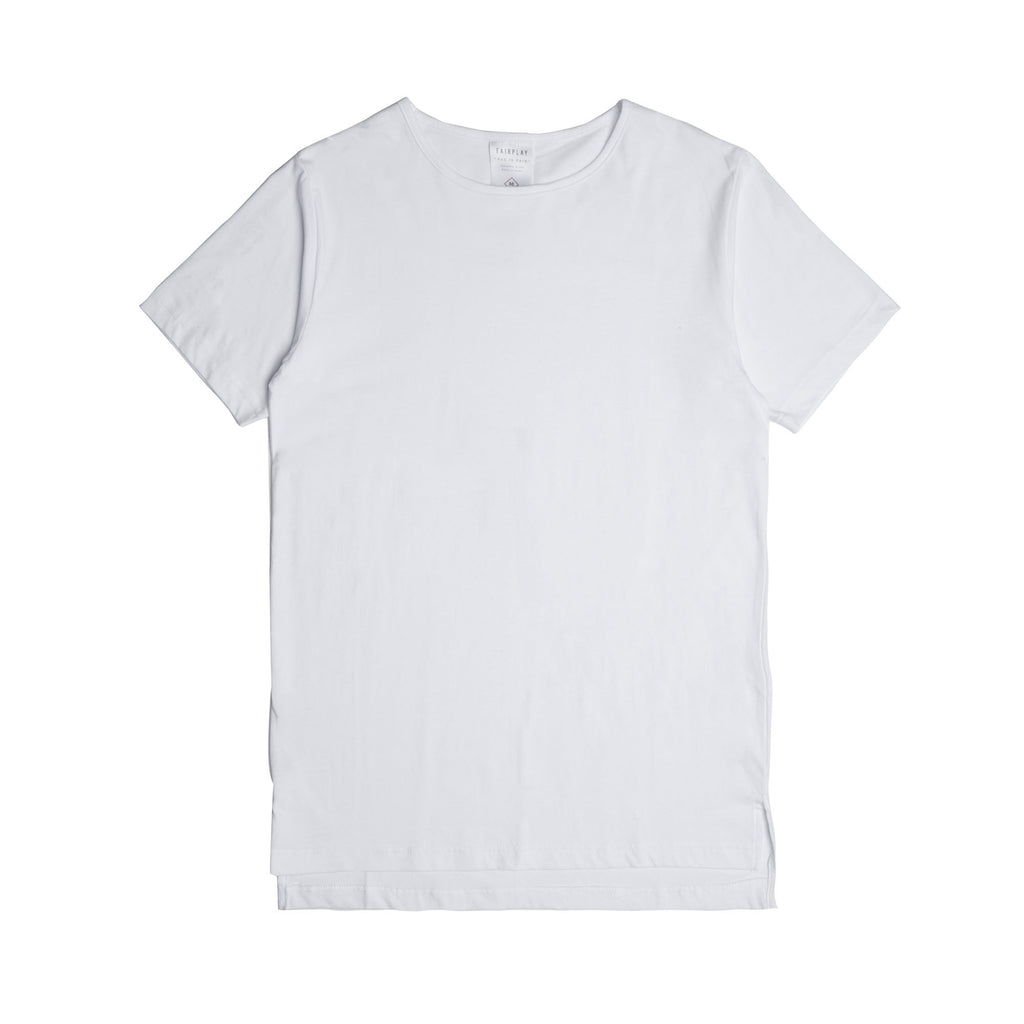 05 - Official S/S Elongated Tee - White