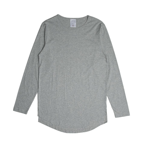 06 - Official L/S Tee - Heather