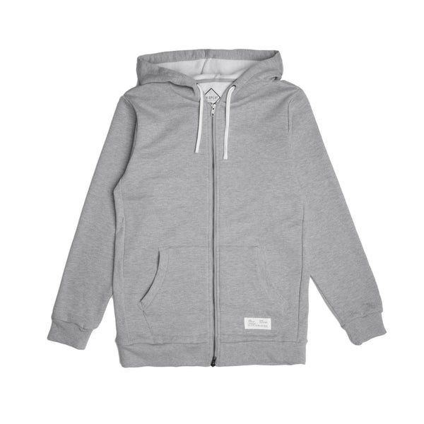 10 - Official Zip Hoodie - Heather