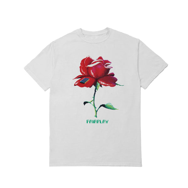 Digital Rose - White