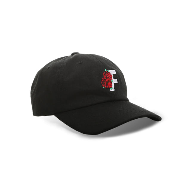 Roses Dad Cap - Black