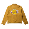 Los Angeles Lakers Pinstripe Cotton Jacket | PREORDER
