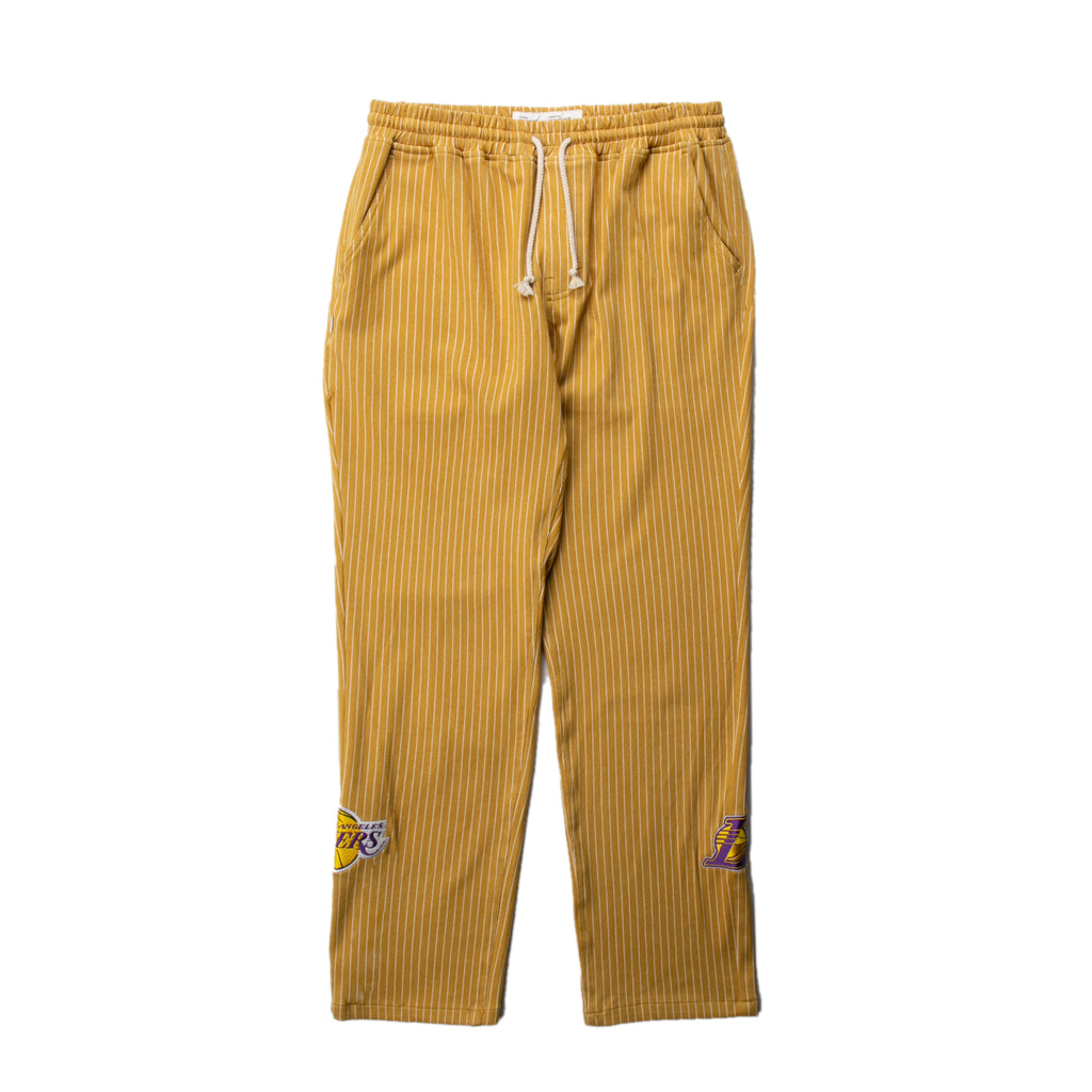 Los Angeles Lakers Pinstripe Cotton Pant | PREORDER