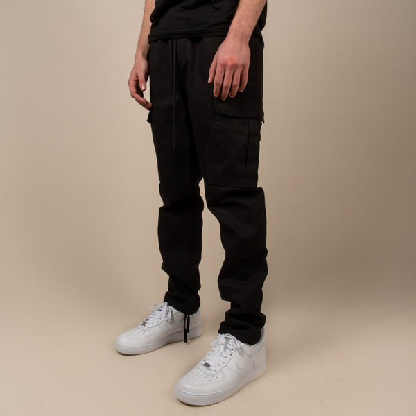 Official Chino Cargo - Black