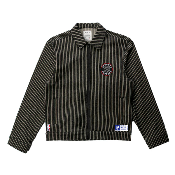 Toronto Raptors Pinstripe Cotton Jacket