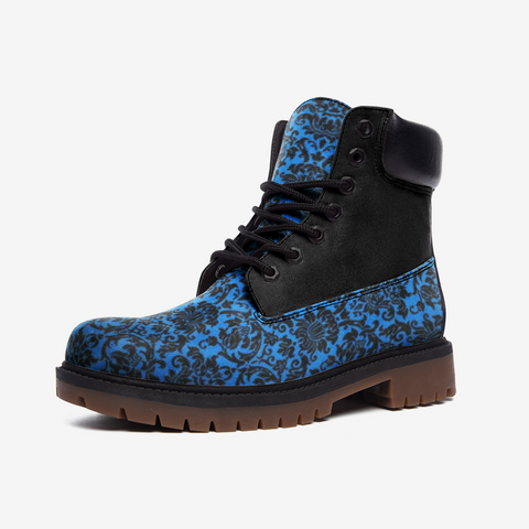 CHANDELIER BLUE 3 CASUAL LEATHER LIGHTWEIGHT BOOTS