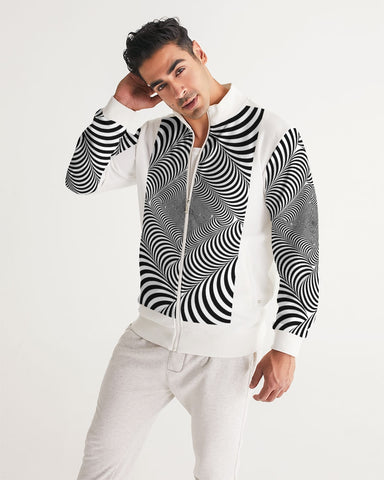 Optical illusion Men's Track Jacket