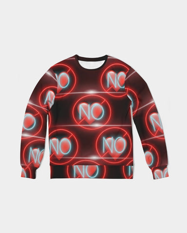 No love 3 Men's Classic French Terry Crewneck Pullover