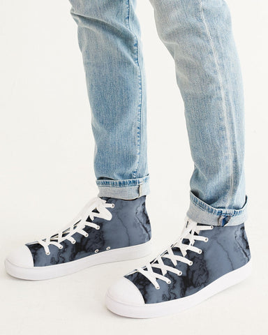 Marble Men's Hightop Canvas Shoe