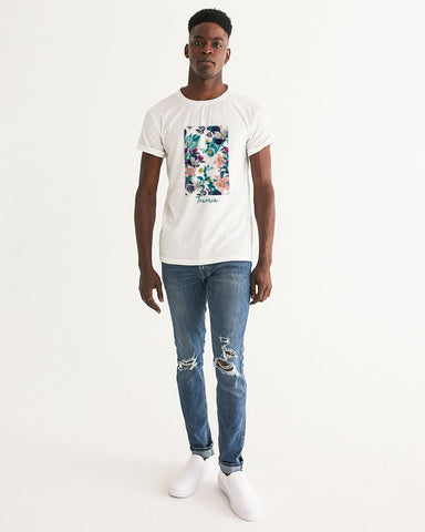 Warm Floral Men's Graphic Tee