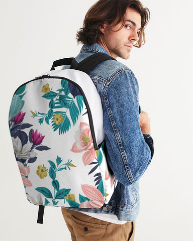 Warm Floral Large Backpack