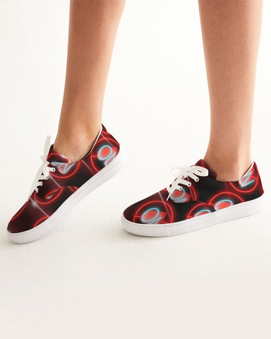 No love 3 Women's Lace Up Canvas Shoe