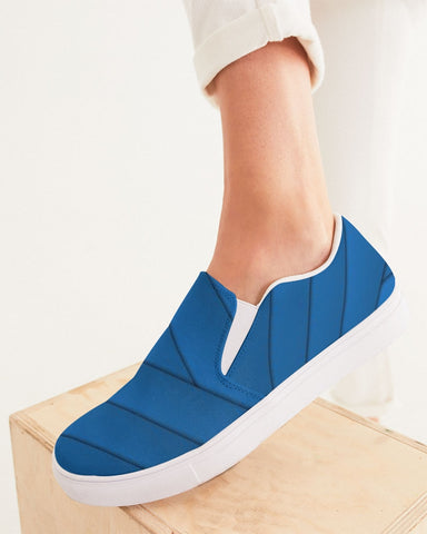 Cobalt Women's Slip-On Canvas Shoe