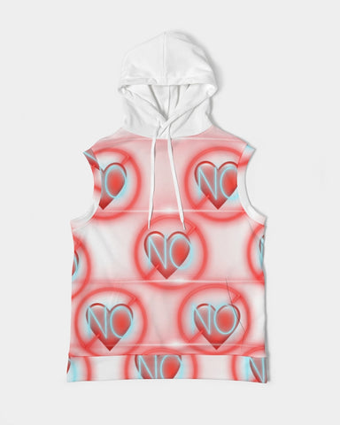 No love 2 Men's Premium Heavyweight Sleeveless Hoodie