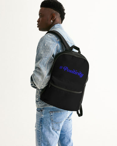 positivity Small Canvas Backpack
