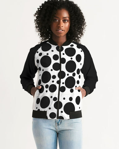 Dots Women's Bomber Jacket