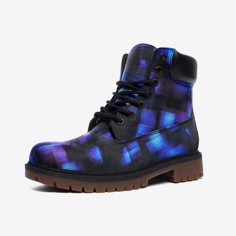 Glitch Casual Leather Lightweight boots