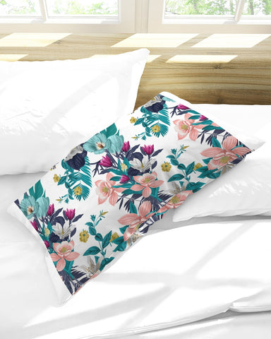 Warm Floral King Pillow Case