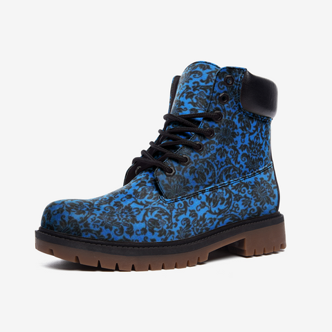 Chandelier Blue Casual Leather Lightweight boots