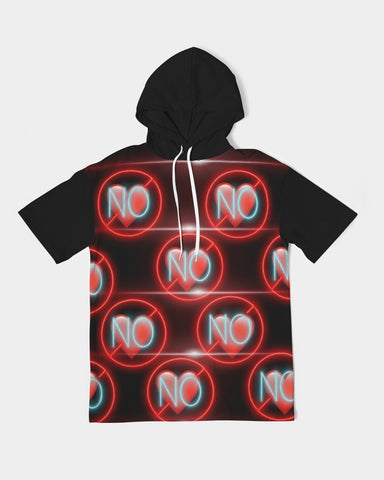 No love 3 Men's Premium Heavyweight Short Sleeve Hoodie