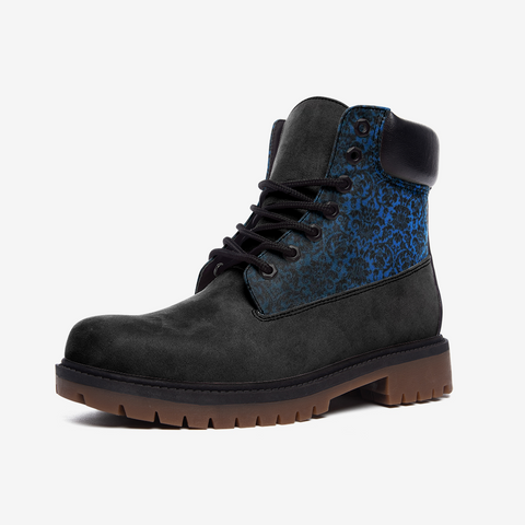 Chandelier Blue 2 Casual Leather Lightweight boots