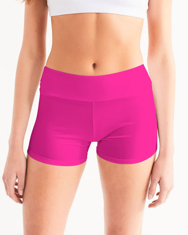 Azalea Women's Mid-Rise Yoga Shorts