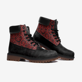 Chandelier Red 2 Casual Leather Lightweight boots