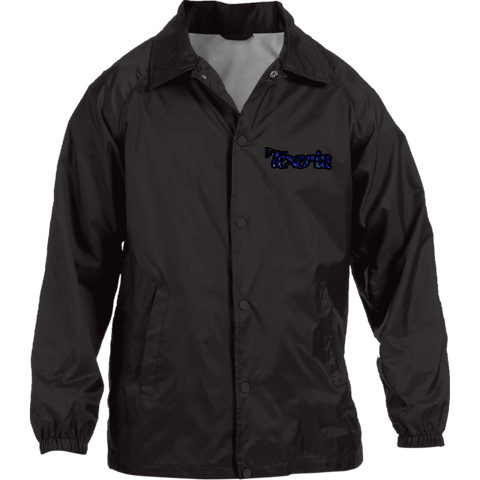 Azul Nylon Staff Jacket