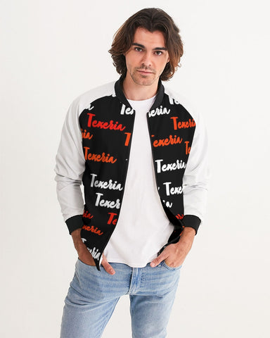 Texeria Monogram Red Men's Bomber Jacket