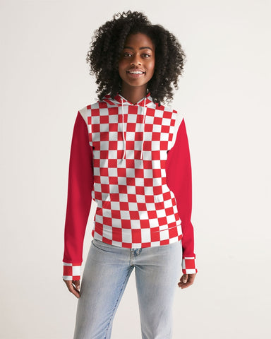 checkered Women's Hoodie
