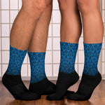 Chandelier Blue Socks