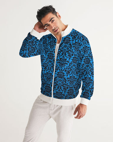 chandelier blue Men's Track Jacket