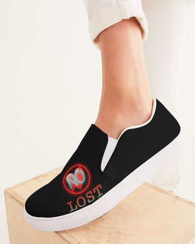 No Love- Women's Slip-On Canvas Shoe