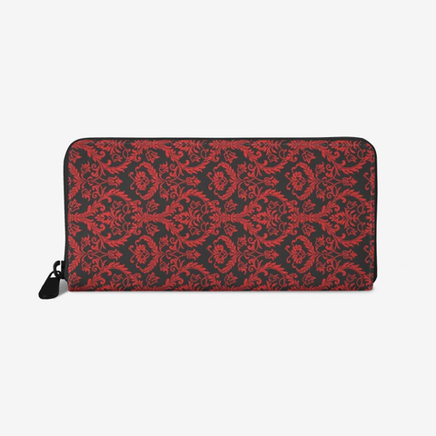 Chandelier Red Leather Wallet