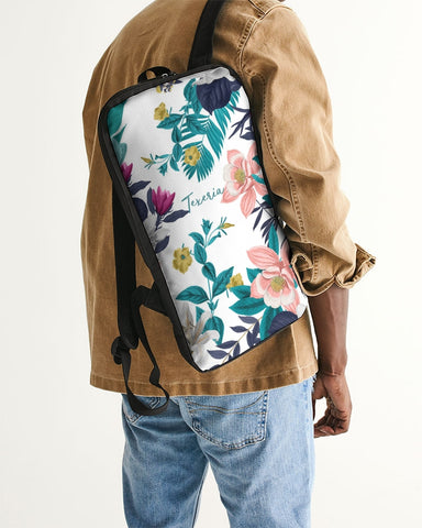 Warm Floral Slim Tech Backpack