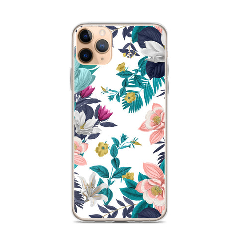 Warm Floral iPhone Case