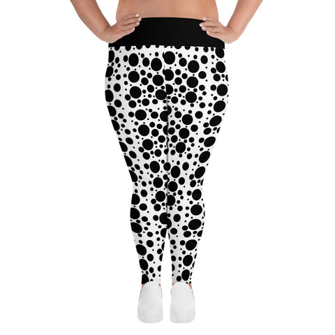 Dots Plus Size Leggings