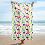 Autism Awareness Beach Towel