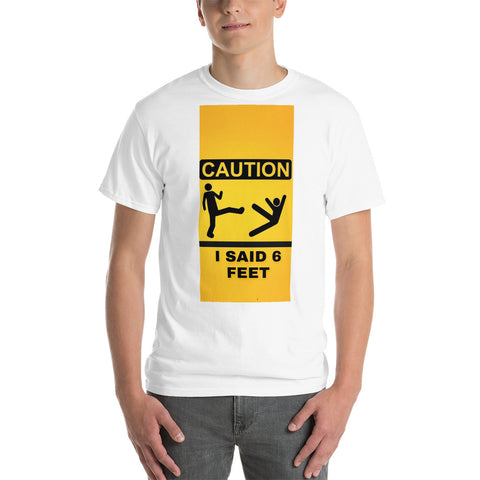 6 Feet Plus Size Men's Tee