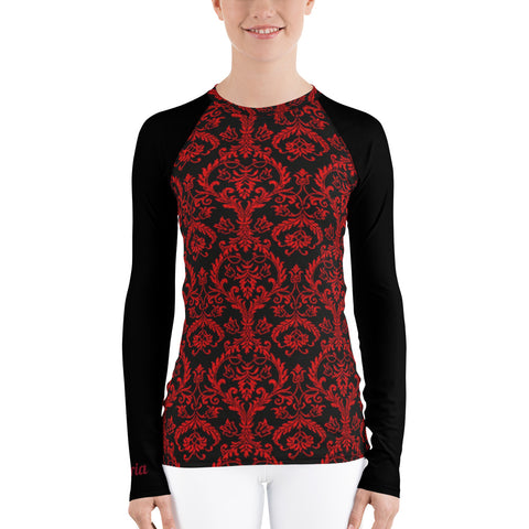 Chandelier Red 2 Women's long sleeve dry fit
