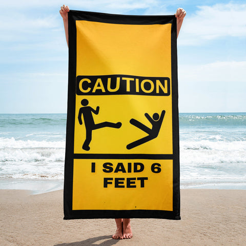 6 feet Beach Towel